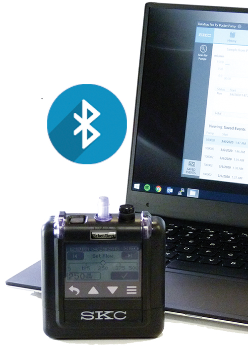 Bluetooth communication with PC and DataTrac ProSoftware